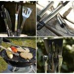 FLAMEN 专业烧烤工具14件套,包括烧烤铁签
