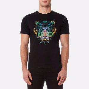 KENZO Men's Tiger T-Shirt - Black