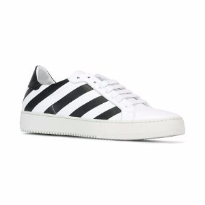 Off-White Diagonal Stripe Sneakers - Farfetch