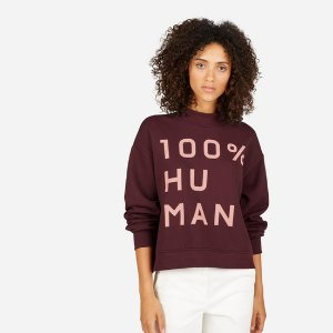 Women's 100% Human French Terry Mockneck   Everlane