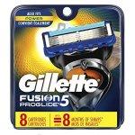 Gillette Fusion Proglide Manual 剃须刀刀片 8片装