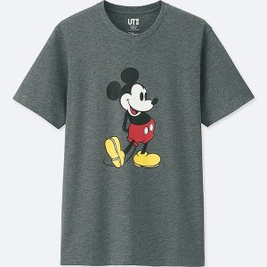 MEN MICKEY STANDS SHORT-SLEEVE GRAPHIC T-SHIRT