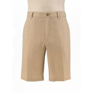 VIP Linen Tailored Fit Plain Front Shorts Big and Tall CLEARANCE - Casual Pants | Jos A Bank