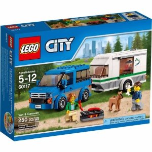 LEGO City Great Vehicles Van & Caravan 60117 - Walmart.com