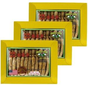 Long American Ginseng Large 8oz box x 3