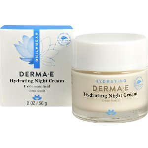 Derma E Hydrating Night Crème with Hyaluronic Acid -- 2 oz