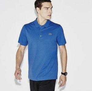 $54.99 (原价$79.5)9色可选:Lacoste 男款超轻纯棉针织网球Polo