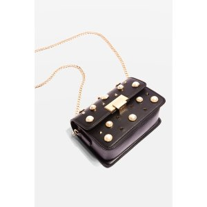Ruby Pearl Studded Cross Body Bag - New In Bags & Accessories - New In