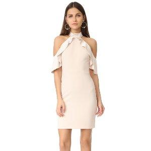 alice + olivia Ebony Cold Shoulder Dress | SHOPBOP