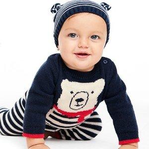 Extra 25% Off $40+ Purchase50-70% Off Kids Sweaters @ OshKosh BGosh
