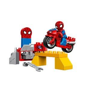 Spider-Man Web-Bike Workshop | LEGO Shop
