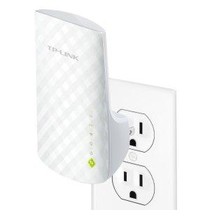 $22.49 消灭信号死角TP-Link AC750 双频 WiFi 中继器