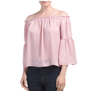 Juniors Made In Usa Crushed Top