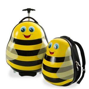 $52.49($140)Heys 小蜜蜂儿童旅行箱及背包两件套