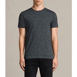 ALLSAINTS US: Mens Tonic Cean Crew T-Shirt (Jet Black)