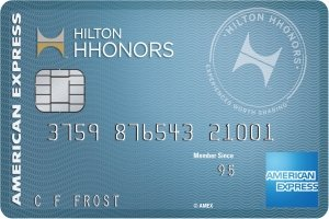 Limited Time Offer: Earn 50,000 Hilton Honors Bonus Points. Terms Apply. Hilton Honors™ Card from American Express