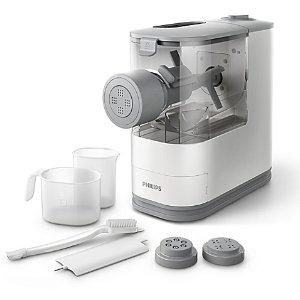 $127.99(原价$199.99)Philips 紧凑型面条机,白色,加水和面粉18分钟出面条
