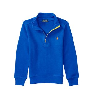 Waffle-Knit Cotton Pullover - Sweatshirts � Tees & Sweatshirts - RalphLauren.com
