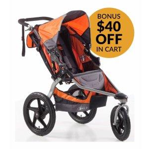 BOB Revolution SE Single Stroller - Orange