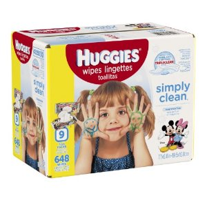 Huggies Simply Clean Baby Wipes, Flip Top, Unscented, 648 Ct | Jet.com