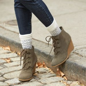SONOMA Goods for Life™ Women's Suede Wedge Ankle Boots