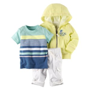 Baby Boy 3-Piece Neon Little Jacket Set | Carters.com