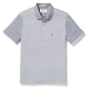 PRINTED FRONT POLO | Original Penguin