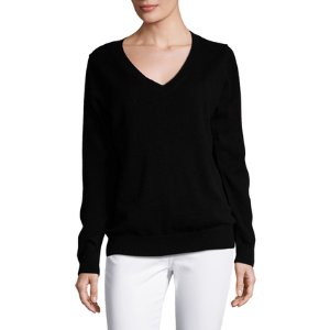 Vee Cashmere Sweater by Vince at Gilt