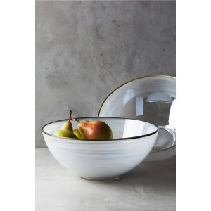 Ore-Edged Serving Bowl | Anthropologie