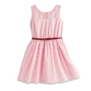 Pink Polka Dot Dress for Girls | BeForever | American Girl