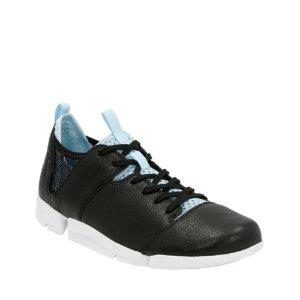 Tri Active Black Leather - Women's Flex 3 Shoes - Clarks® Shoes Official Site