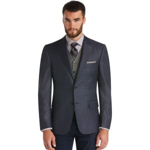 Signature Gold Collection Traditional Fit Plaid Sportcoat CLEARANCE - Sportcoats | Jos A Bank