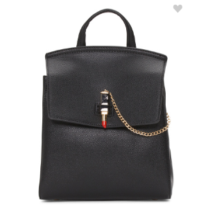 Lipstick Charm Backpack