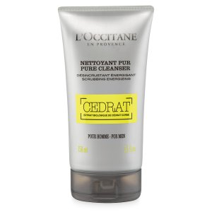 Fresh Face wash & exfoliator for men | Cedrat Pure Cleanser L'Occitane