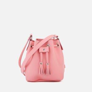 Grafea Women's Mini Bucket Bag - Pink