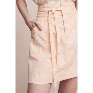 Pilcro Washed Chino Skirt | Anthropologie