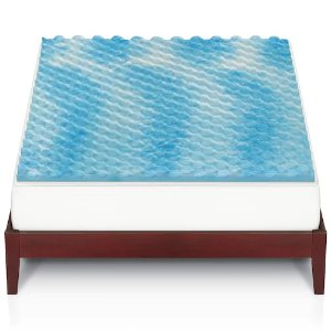 Today Only: $29.99 All SizesThe Big One Gel Memory Foam Mattress Topper