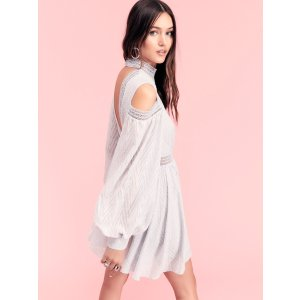 Acler Aslan Cold Shoulder Mini Dress at Free People Clothing Boutique