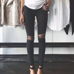Topshop Ripped High Waist Ankle Skinny Jeans @Nordstrom
