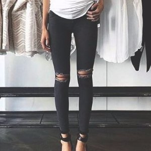 $40Topshop Moto 'Leigh' Ripped Skinny Jeans @Nordstrom