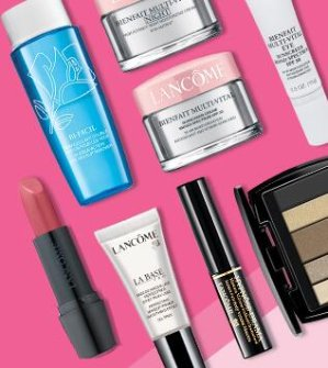 7 Free SamplesWith Orders Over $49 @ Lancome