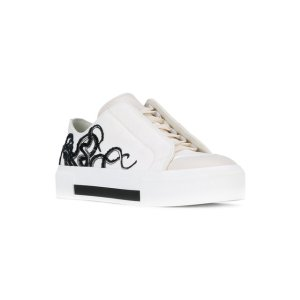 Alexander McQueen Low-cut Embroidered Octopus Sneakers