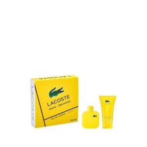 Lacoste L 12.12 Jaune Men's Cologne & Shower Gel 2-Piece Set
