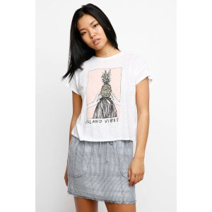 Michelle by Comune Island Vibes Pineapple Tee   South Moon Under