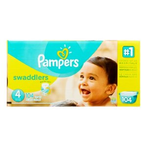 Pampers Swaddlers 纸尿片(Size 4, 104片)