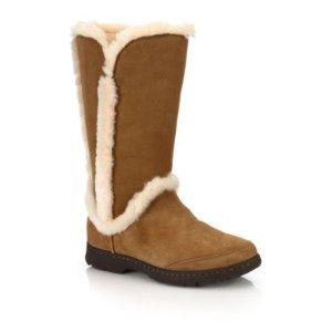 Katia Suede, Shearling & Faux Fur Boots