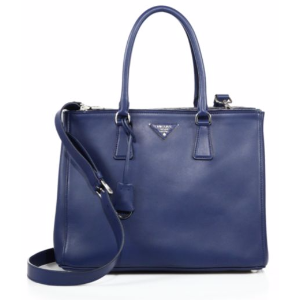 Prada - City Calf Medium Double-Zip Tote - saks.com