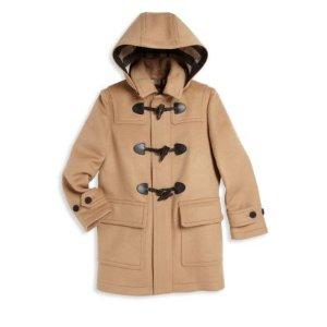 Little Boy's & Boy's Burwood Duffle Coat
