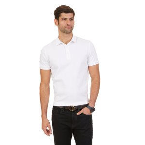 Leeward Polo Shirt - Bright White | Nautica