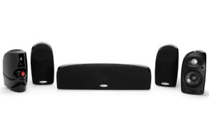 $249Polk Audio 5-Pack Black Compact Home Theater Audio System - TL250